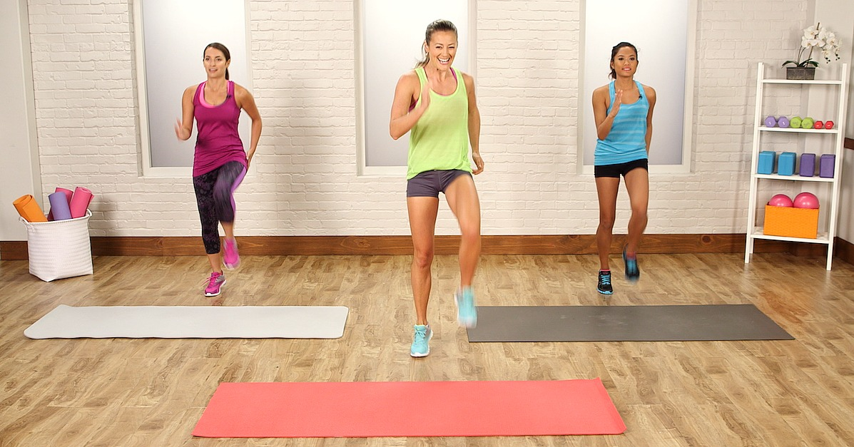20 Minute No Running Cardio You Can Do In Your Living Room Fitsugar Bloglovin