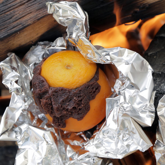Campfire Orange Brownies