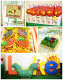 Celebrate Your Young Butterfly's Birthday With This Hungry Caterpillar Party