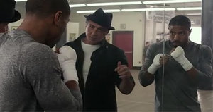 First 'Creed' Trailer Shows Rocky Still Packs a Punch