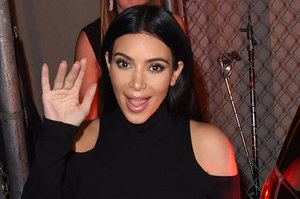 "Kim Kardashian Gave a ""Tech Talk"" in San Francisco Last Night"