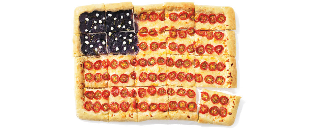 The Most Patriotic Pizza Ever