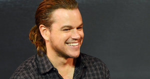 Matt Damon Unleashes Thick, Flowing Ponytail