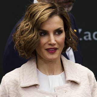 Queen Letizia of Spain Raspberry Lipstick