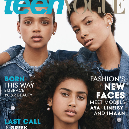 Black Hair in Teen Vogue August 2015