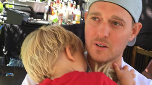 Michael Buble's Son Is Home From the Hospital After Scalding Water Incident