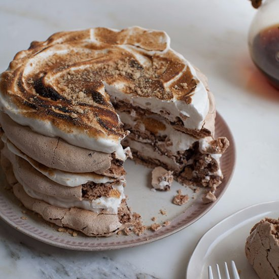 Make Your Fourth of July Weekend Extra Sweet With S'mores Pavlova