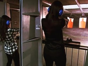 Kourtney Kardashian Posts Gun Range Photo After Kim Calls For Gun Control
