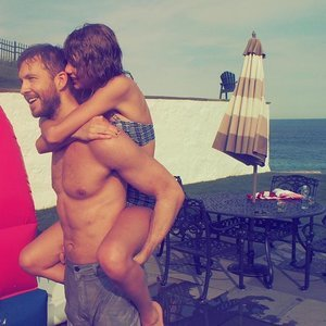 Taylor Swift and Calvin Harris Instagram Fourth of July