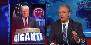 Jon Stewart Slams Donald Trump Supporters For Defending 'Mexican Rapists' Comments