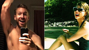 Calvin Harris Confirms Taylor Swift Can Do Anything in First Instagram Pic