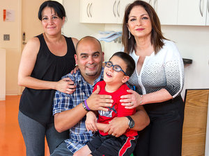 Gloria Estefan Funds Hospital Stay for 8-Year-Old Boy with Cerebral Palsy: 'I Felt a Very Strong Connection'