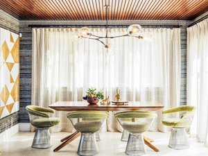 Inside a Designer's Own Insanely Glam Home
