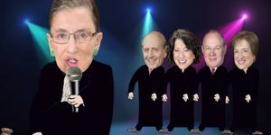 Ruth Bader Ginsberg Gets Rap Tribute In 'Judges Delight' Video By Allison Lane