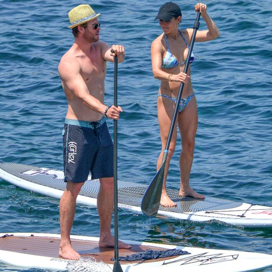 Chris Hemsworth and Elsa Pataky Turn Up the Heat on Their Yacht Vacation
