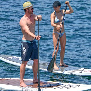 Chris Hemsworth Elsa Pataky Shirtless Bikini Photos