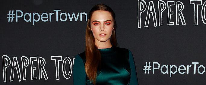 Cara Delevingne Wears an Aussie Designer For Her Paper Towns Premiere