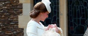 Kate Middleton Looked Lovely in White For Princess Charlotte's Christening