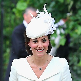 The Duchess of Cambridge Looked Lovely in White at Princess Charlotte's Christening