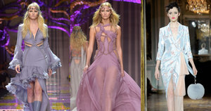 At Couture, Flower Children and Soviet Flappers