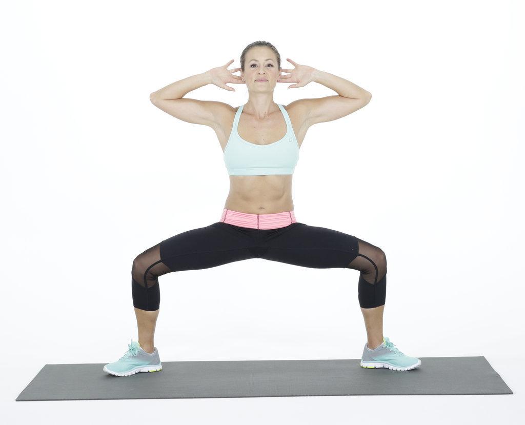 Lower Body: Sumo Squat