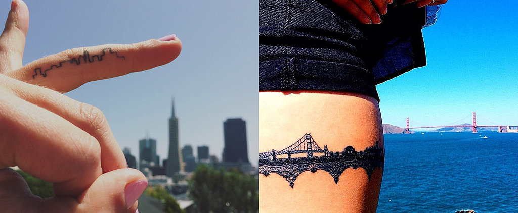 32 City Skyline Tattoos That Prove Home Is Where Your Ink Is