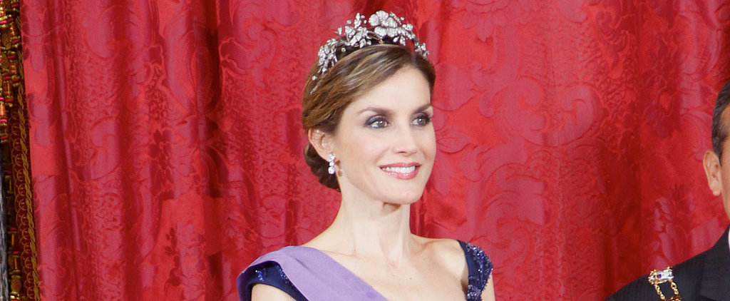 Queen Letizia Is a Real-Life Disney Princess in This Gorgeous Gown