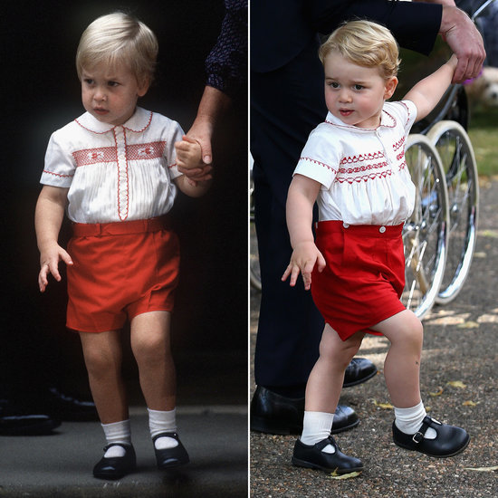 Prince George's Outfit at Princess Charlotte's Christening