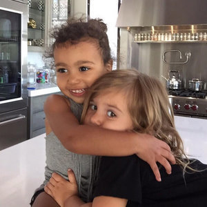 Pictures of North West and Penelope Disick