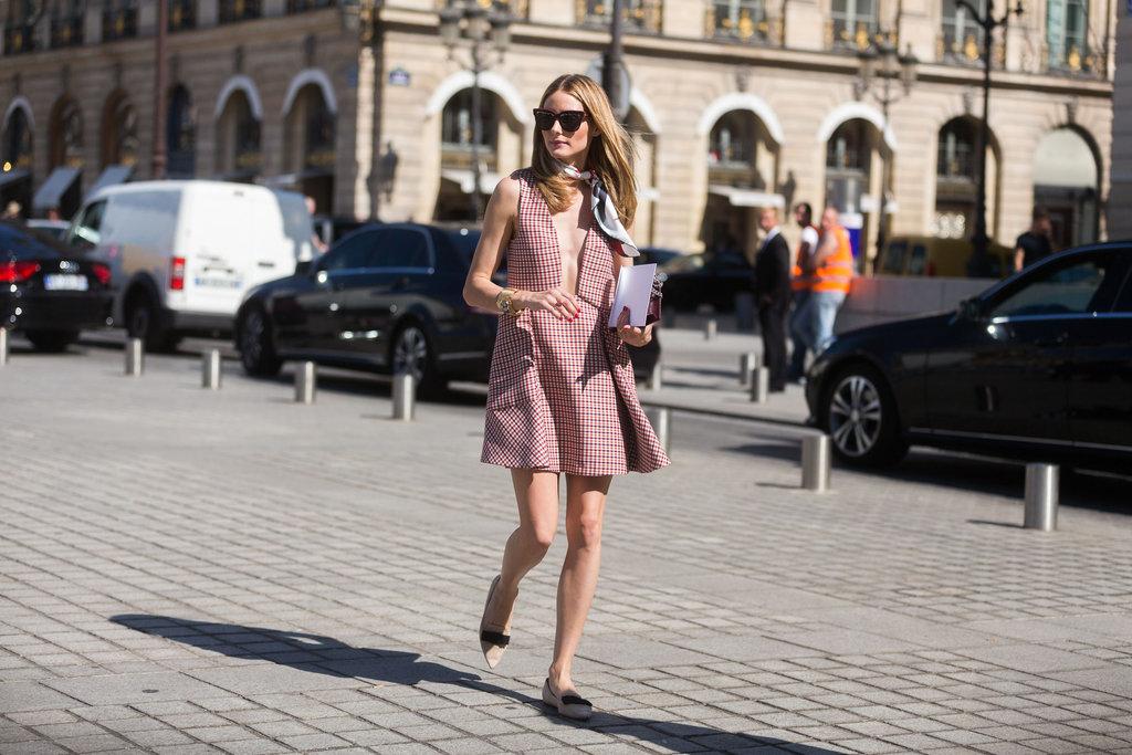 Olivia Palermo Style At Couture Fashion Week 2015 Popsugar Fashion