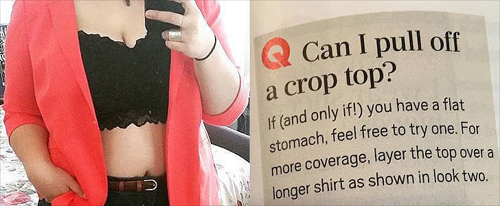 Oprah Magazine Makes a Fat-Shaming Faux Pas, and Instagram Erupts