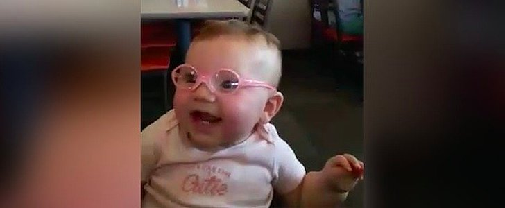 Seeing This Baby Get Her First Pair of Glasses and See For the First Time Will Melt Your Heart
