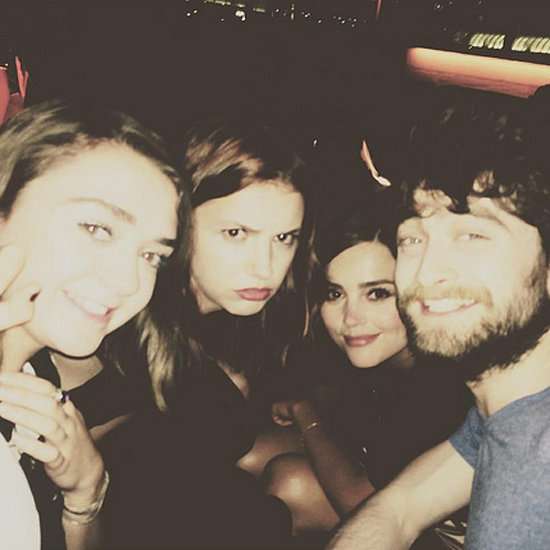 Maisie Williams and Daniel Radcliffe's Comic-Con Selfie 2015