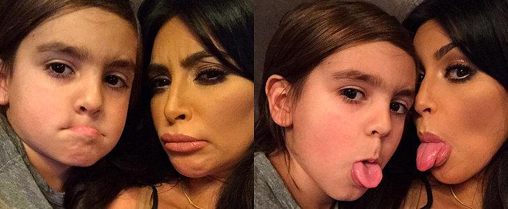 Here's What Happens When Selfie Queen Kim Kardashian Is Your Aunt