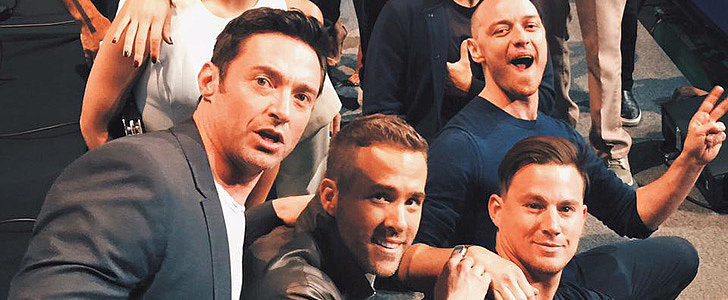 Jennifer Lawrence and Channing Tatum Gather For an Epic Comic-Con Picture