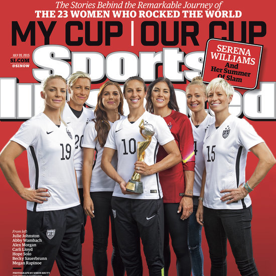 Sports Illustrated US Women's Soccer Cover
