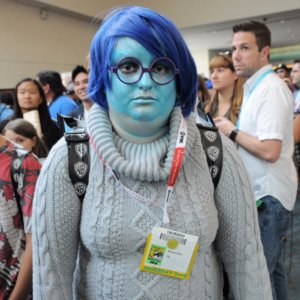 Disney Costumes at Comic-Con 2015