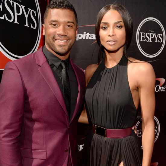 Ciara and Russell Wilson at the ESPYs 2015