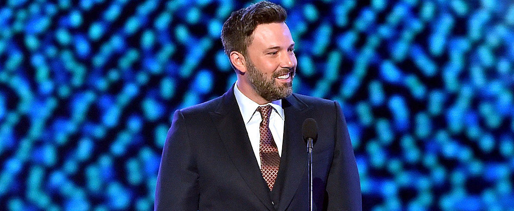 Ben Affleck Wears His Wedding Ring on Stage at the ESPYs