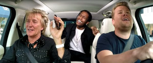 Rod Stewart and A$AP Rocky Have the Most Epic Carpool Karaoke Session With James Corden
