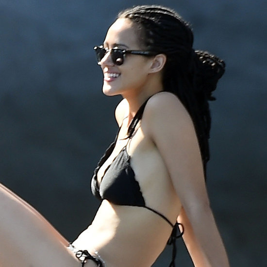 Nathalie Emmanuel in a Bikini in Italy July 2015   Pictures