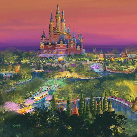 Rides at Shanghai Disney Resort
