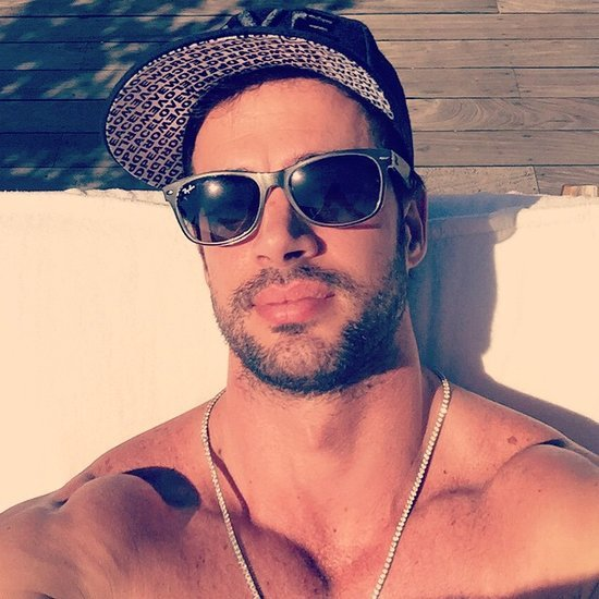 All the Sexy Shirtless Selfies William Levy Has Shared With Us