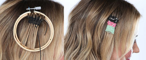 We Tried Needlepoint For Your Hair — and It's Awesome