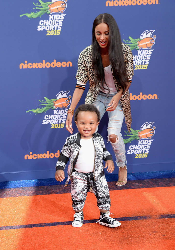 Ciara's Son, Future, Solidifies His Future Heartbreaker Status at the Kids' Choice Sports Awards
