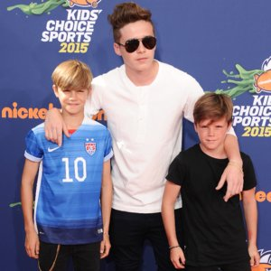 Beckham Boys at Kids' Choice Sports Awards Pictures