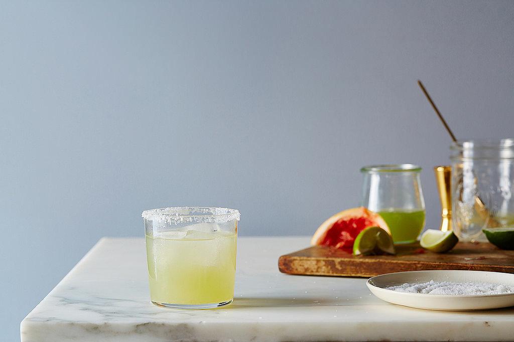 Cucumber-Grapefruit Tequila Cooler
