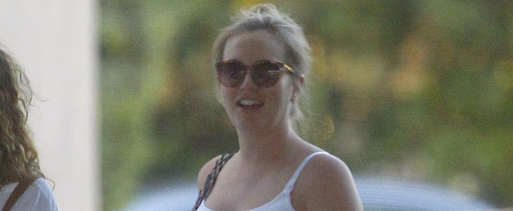 Leighton Meester's Baby Bump Is Front and Center During an LA Outing