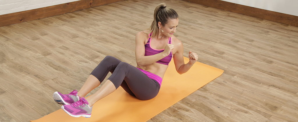 Take the 1-Minute V-Sit Challenge
