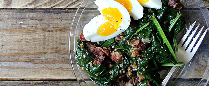 The Best Effing Spinach Salad Recipe Ever — Seriously
